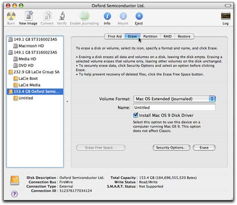 format hard drive mac disk utility formatting partitioning a hard drive in os x