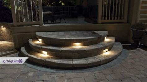 Patio Step Lights with Outdoor Deck Step Lights