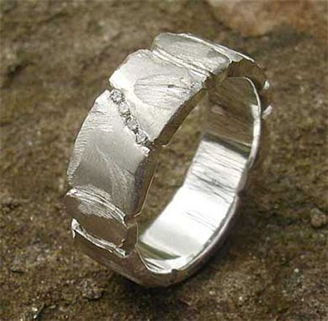 Handmade Mens Rings Uk - handmade silver designer ring love2have in the uk