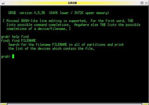 xterm tutorial linux can t boot grub problem centos