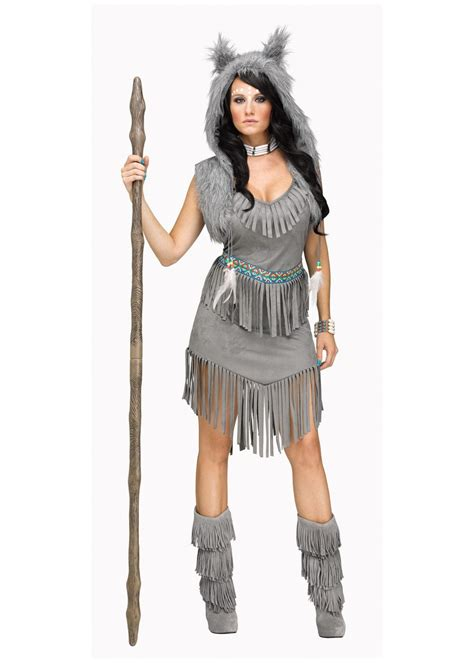 wolf dancer indian women costume indian costumes