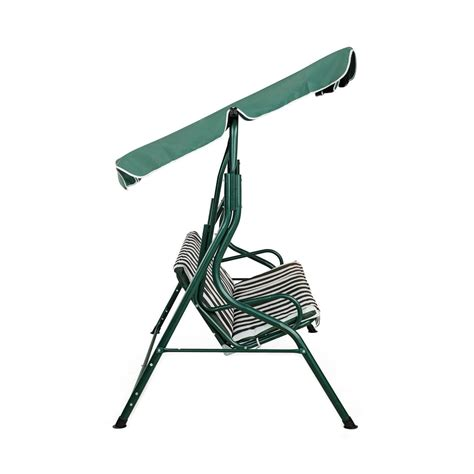 3 chair bench garden swing bench chair for 3 person 163 52 99 oypla