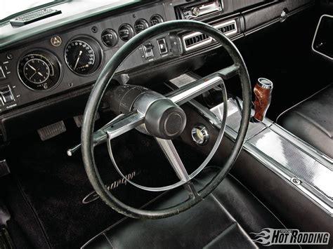 1968 dodge charger steering wheel 1968 dodge charger comfy cruiser rod network
