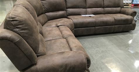 Costco Sofa Recliners by Motion Sectional With Three Recliners Costco Weekender