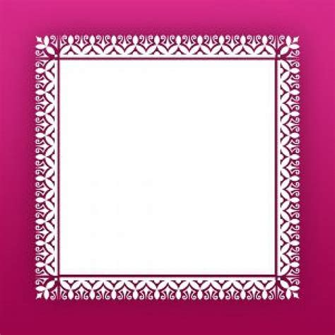 frame pattern free fuschia frame with a lace pattern photo free download