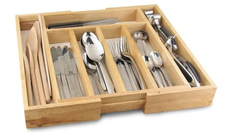 Drawer Organisers Argos by Apollo Expandable Cutlery Tray Groupon Goods
