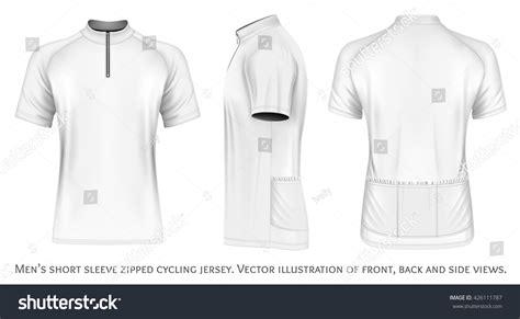 jersey design illustrator mens short sleeve cycling jersey short stock vector