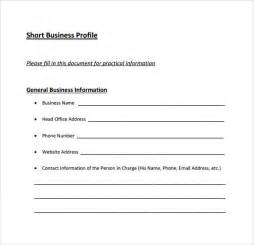 business template free business profile template 7 documents in pdf