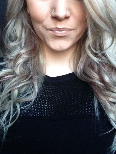 silver blonde haircolor grey ash blonde red hair weird cause i am not a grey nor