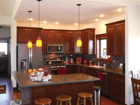 small u shaped kitchen with island l shaped kitchen designs deductour com