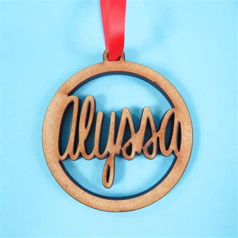 personalised decorations images of personalised tree decoration