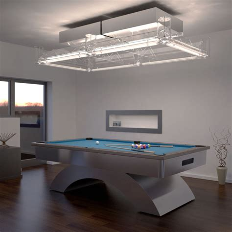 led pool table light lighting installation for your pool table prolux