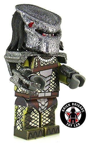 Brick Minifigure Predator brick brigade custom lego predator sci fi jungle desertcart
