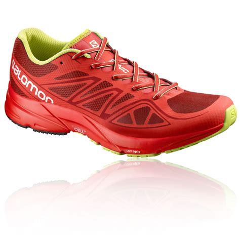 fr sports shoes salomon sonic aero mens cushioned running road sports