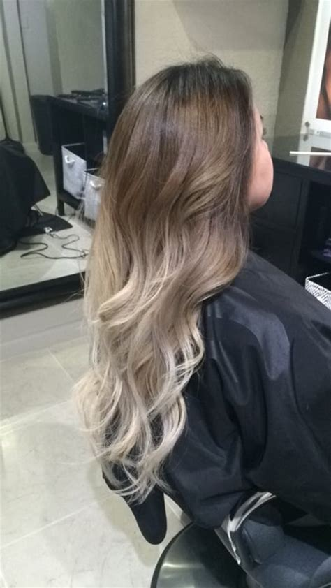 ash blonde ombre on asian hair yelp
