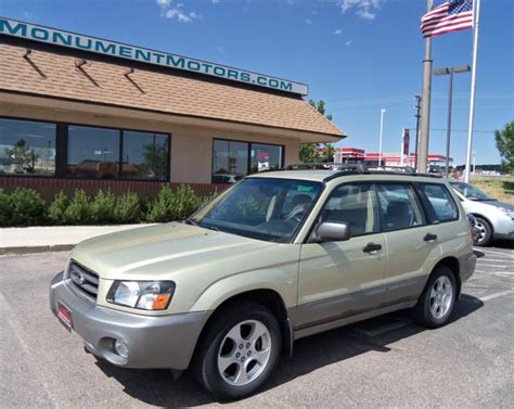 2003 Subaru Forester 2 5xs by 2003 Subaru Forester 2 5xs 08 24 13 Grienpentrog