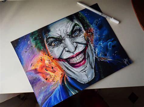 the joker colors joker colour drawing by hgalba on deviantart