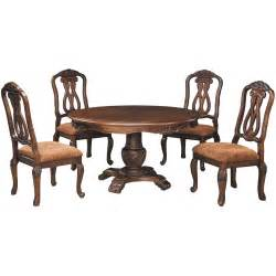 shore dining room set north shore 5 piece round table set d553 5pc ashley d553 50tb