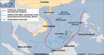 South China Sea Dispute Map by Newswatch Us China Tensions Increase In South China Sea