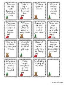 Cart School Calendar Advent Calendar Free Family Advent Activity Cards