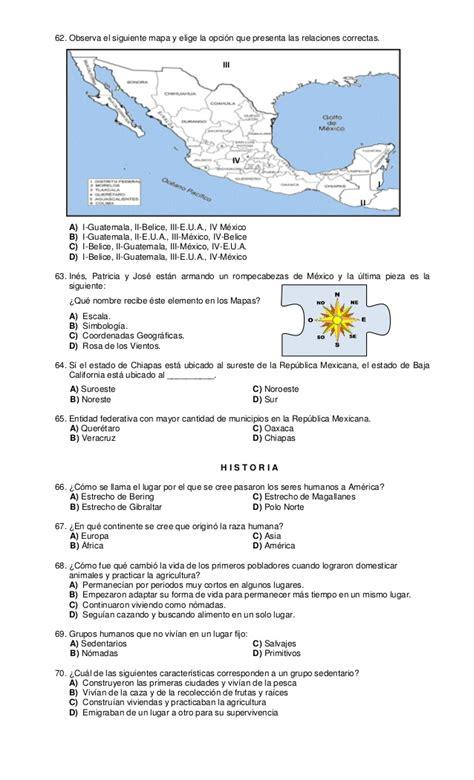 examenes de 4 primaria 5 bimestre examen cuarto grado primer bimestre