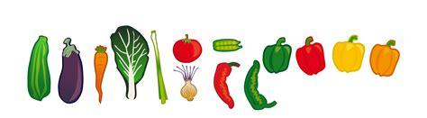 vegetables clipart onlinelabels clip vegetables set