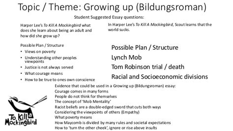 themes in to kill a mockingbird growing up essay building blocks growing up bildungsroman themes