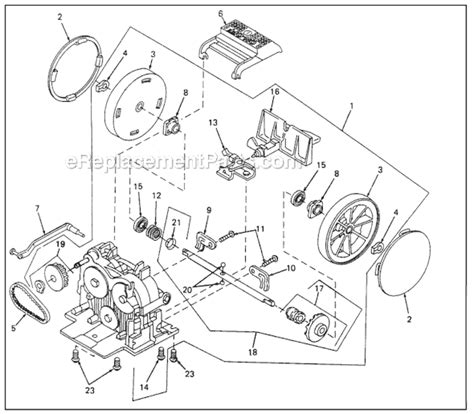 kirby vacuum parts diagram kirby sentria parts list and diagram ereplacementparts