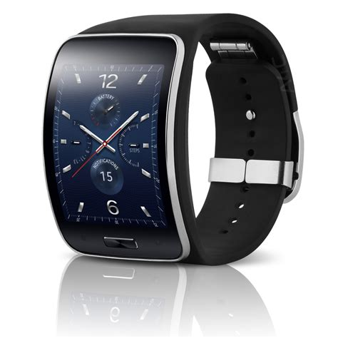 samsung galaxy gear s sm r750v smart curved verizon charcoal black ebay