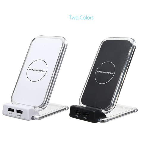 qi wireless 2 dual usb fast charger stand holder charging for samsung s8 s8 plus sale rc toys
