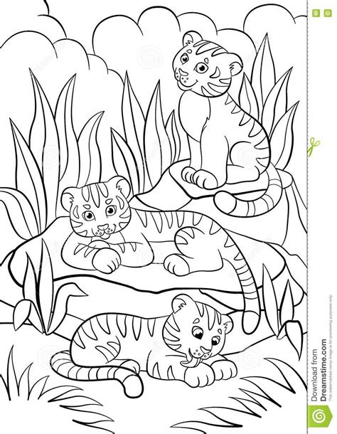 baby wild animals coloring pages coloring pages wild animals three little cute baby