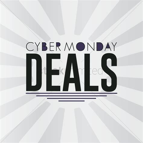 cyber monday desk sale cyber monday sale wallpaper vector image 1613183