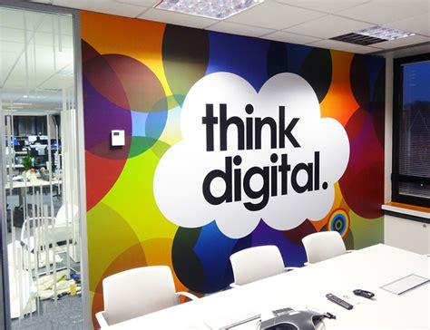 Design Interior Online office wallpaper juro digital