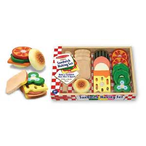 Melissa And Doug Play Kitchen Accessories Melissa And Doug Sandwich Making Set Play Kitchen