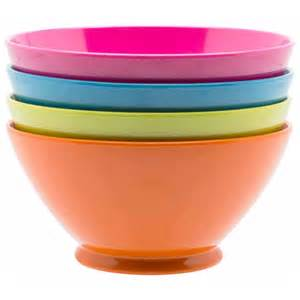 colorful bowls by zak designs