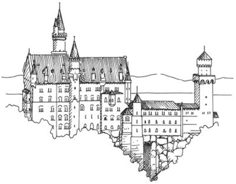 easy to draw architecture how to draw castles howstuffworks