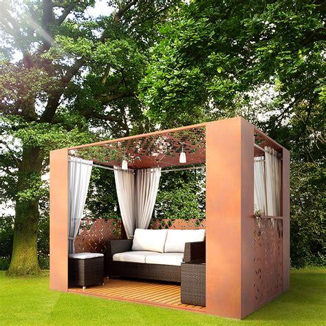 moderner gartenpavillon modern gazebo and garden buildings direct i custom designs