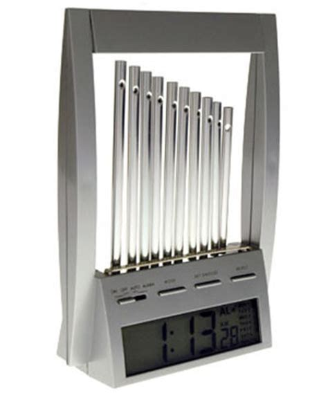 wind chime alarm clock serenity now insanity later