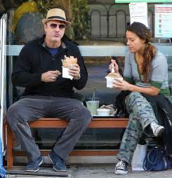 What Is A Sitting Room Used For - chris noth makes a meal out of falafel snack and ends up with sauce around his chops daily