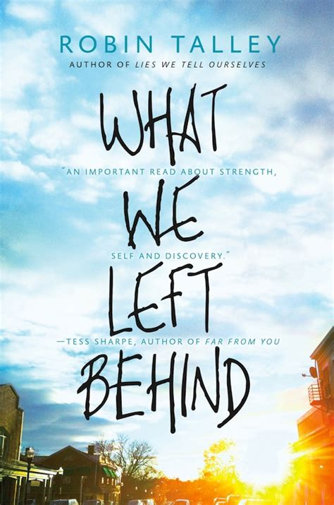 What We Left exclusive cover reveal what we left by robin