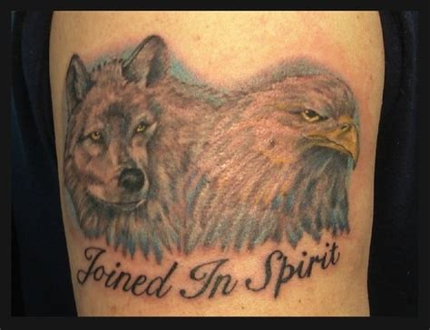 Eagle And Wolf Tattoo Picture At Checkoutmyink Com Eagle And Wolf Tattoos