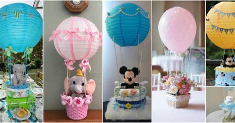 12 centros de mesa con forma de globos aerost 225 ticos para baby shower tutorial