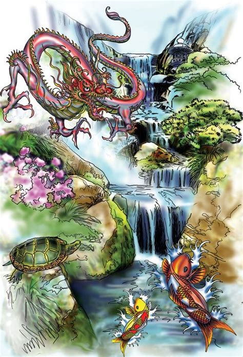 japanese waterfall tattoo designs 28 japanese waterfall designs waterfall