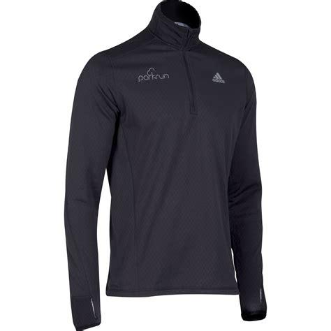 Jaket Adidas Black Ink wiggle parkrun adidas fleece sleeve running tops