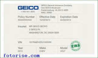 new driver temporary car insurance temporary auto insurance card template fotorise