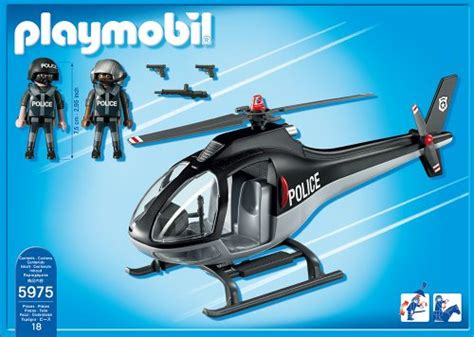 Playmobil Tactical Unit Helicopter playmobil tactical unit helicopter