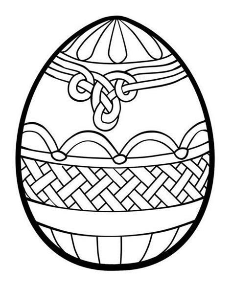 egg design coloring page unique spring easter holiday adult coloring pages