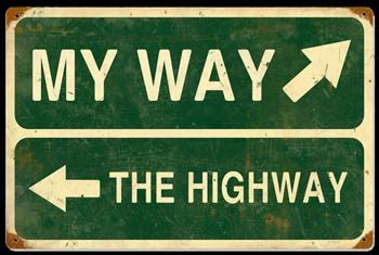 my way from the my way or the highway at emily ann leonard s blog