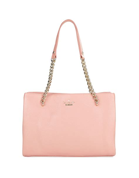 Kate Spade Stella Satchel Bag Ss17 kate spade small phoebe leather satchel bag in pink smokey lyst