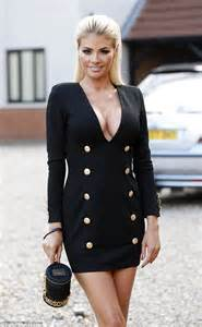 Ledi Top Navy T3009 1 towie s sims flashes cleavage and pins in